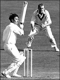 Denis Compton saw England home to a famous victory at The Oval