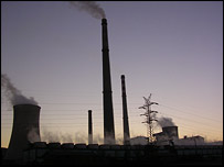 A power station in Tangshan