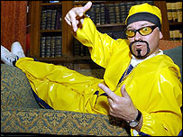 Alan Duncan MP, dressed as Ali G