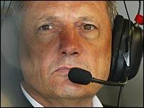 McLaren team boss Ron Dennis