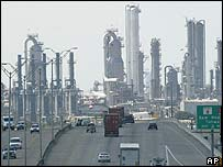 US oil refineries