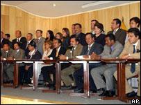 Diputados opositores al solicitar el juicio contra Lucio Gutiérrez.