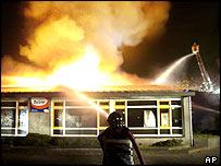 Incendio en una escuela de Uden