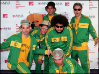 Beastie Boys - and friends - at the 2004 MTV Latin Music Awards