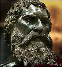 Thracian statue found near Shipka