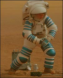 Astronaut on Venus