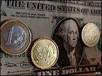 Dólar y euros