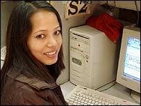 Sushma, Bangalore internet user