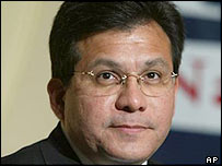 Alberto Gonzales, President Bush's nominee for attorney general