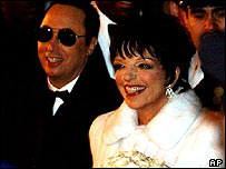 Liza Minnelli and husband David Gest