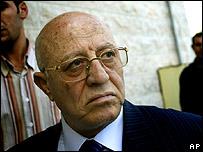 Ahmed Korei, primer ministro de la Autoridad Nacional Palestina