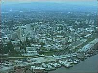 Kinshasa from the air