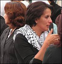 Grieving Palestinian women, Ramallah