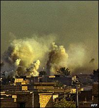 Bombing Falluja