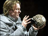 Toby Stephens in the Royal Shakespeare Company's Hamlet