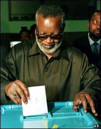 Namibian President, Sam Nujoma