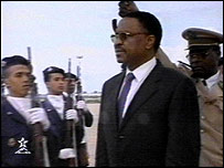 Mamadou Tandja, Niger's president since 1999