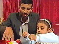 Mohammad and Ayisha in Britain