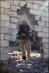 US troop in Falluja