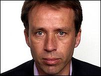 BBC correspondent Ben Brown
