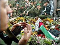 Yasser Arafat's grave in Ramallah