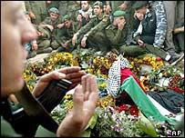 Yasser Arafat's grave in Ramallah