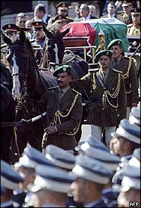 Arafat funeral in Cairo