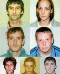 Seven people convicted