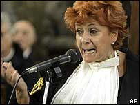 Prosecutor Ilda Boccassini summing up on 12 November 2004