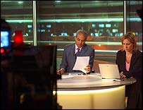 BBC News studio