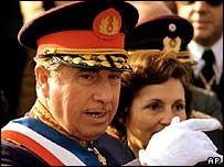 Gen Augusto Pinochet in 1975