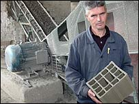 Factory foreman Radmir Stojanovic