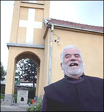 Priest Dragoljub Stevanovic