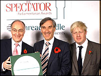 Michael Howard, John Redwood and Boris Johnson