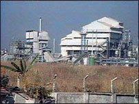 Site of Union Carbide plant at Bhopal