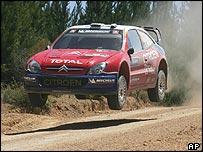 Sebastien Loeb on the Rally Australia