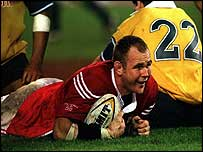 Quinnell made two Lions tours