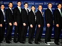 Gaudio, Moya, Safin, Henman, Coria, Hewitt, Roddick, Federer.