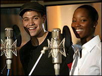 Will Young and Jamelia