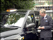 Prince Charles and Black Cab