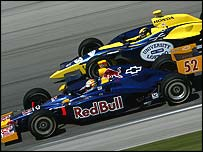 Red Bull Cheever Racing in action