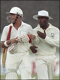 Alec Stewart and Desmond Haynes