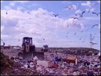 Tir John landfill site