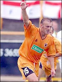 Scarborough player-coach Neil Redfearn
