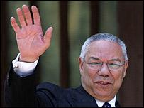 Secretario de Estado de EE.UU. Colin Powell.