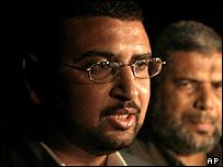 Hamas spokesman Sami Abu Zukhri