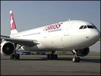 Swiss International aircraft (Photo courtesy Swiss International)