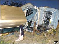Train crash near Bundaberg