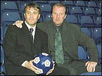 Micky Adams (left) and Dave Bassett