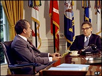 Henry Kissinger and Nixon